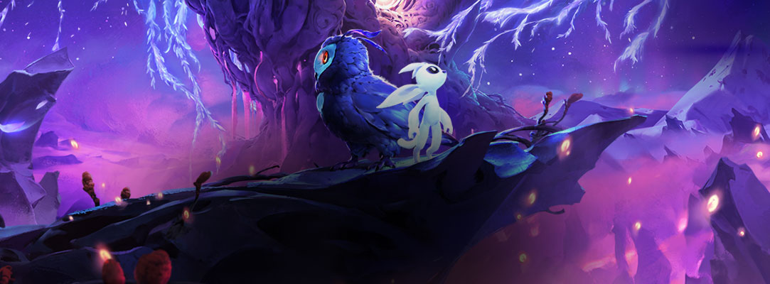 Ori game art