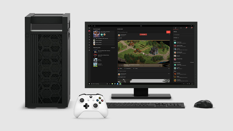 application xbox sur windows