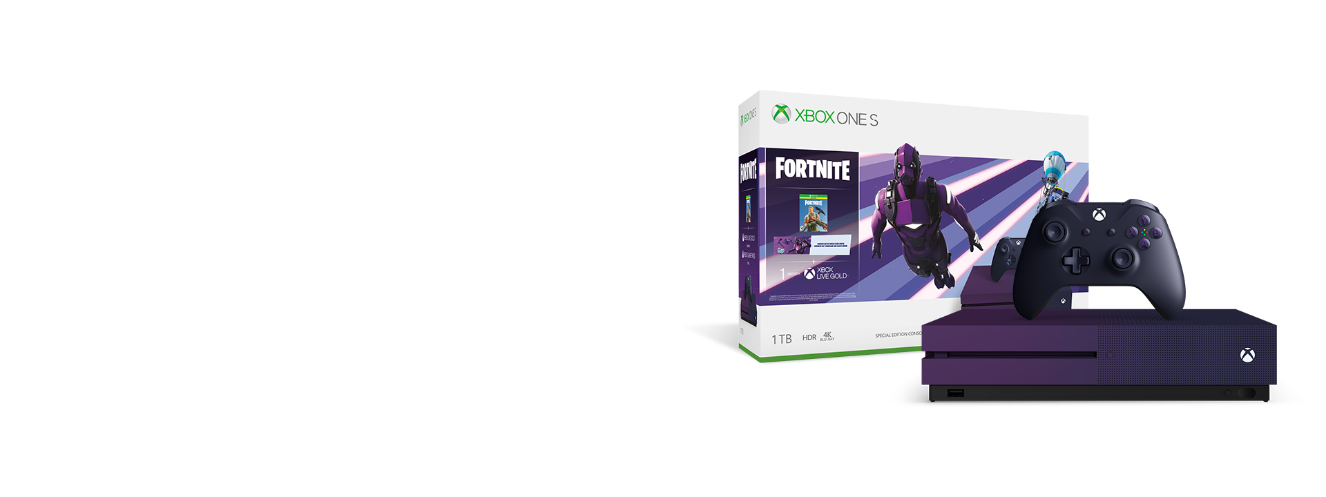 Économisez 80 $ sur l'ensemble Xbox One S Fortnite Battle Royale édition spéciale, seulement 299 $