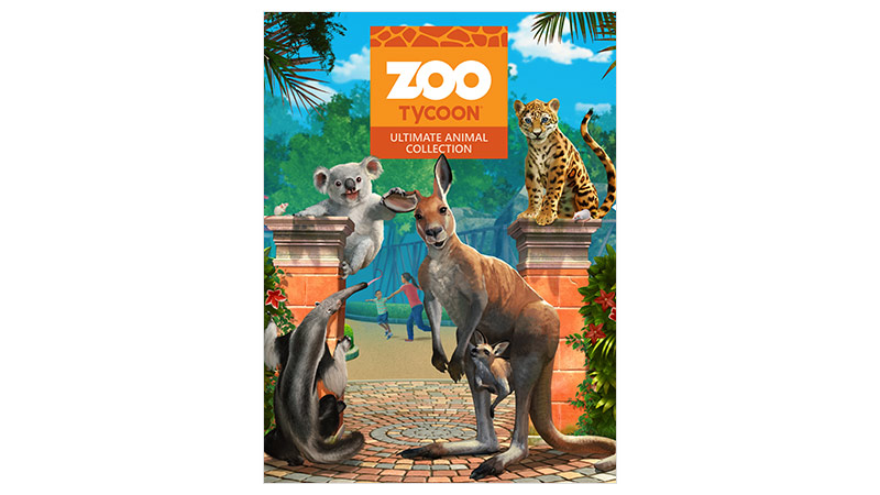 Zoo Tycoon Standard Edition-coverbillede