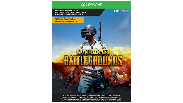 PLAYER UNKNOWN'S BATTLEGROUNDS – Verpackung