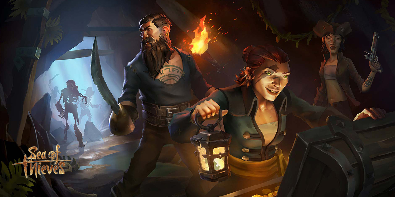 Scene fra Sea of Thieves