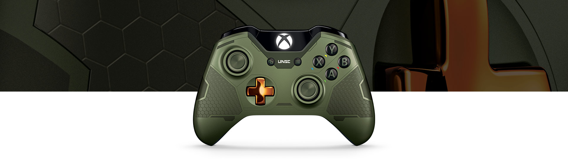 Limited Edition Halo 5: Guardians – trådløs Master Chief-controller til Xbox One