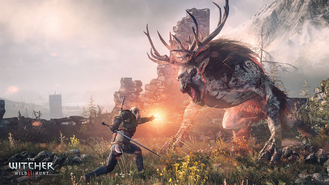 The Witcher 3: Wild Hunt – Im Kampf