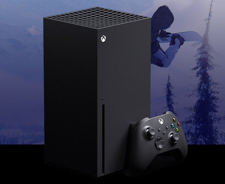 Xbox SeriesX console plus controller