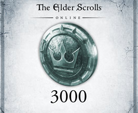 The Elder Scrolls Online, Crown coin with the number 3000