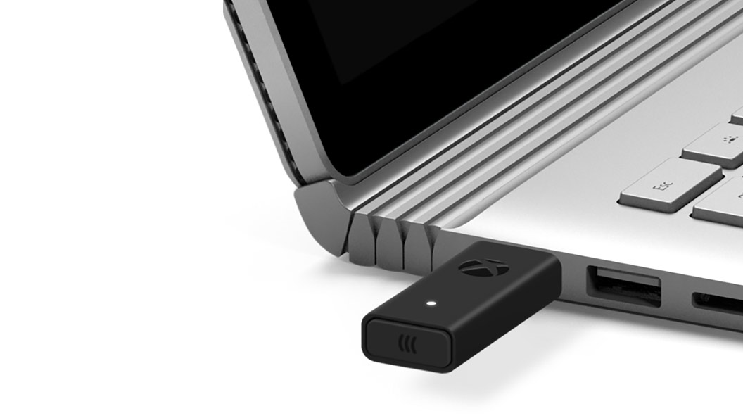 Xbox Wireless Adapter til Windows 10, laptopport