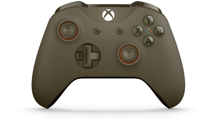 Xbox Wireless Controller – Green/Orange