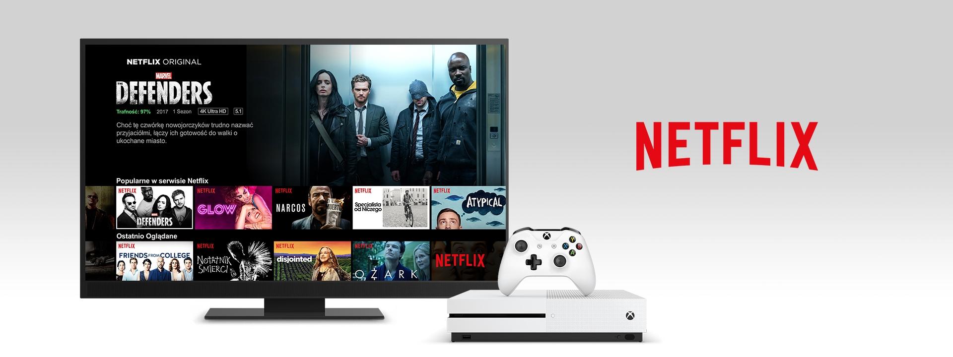 Netflix na konsoli Xbox One