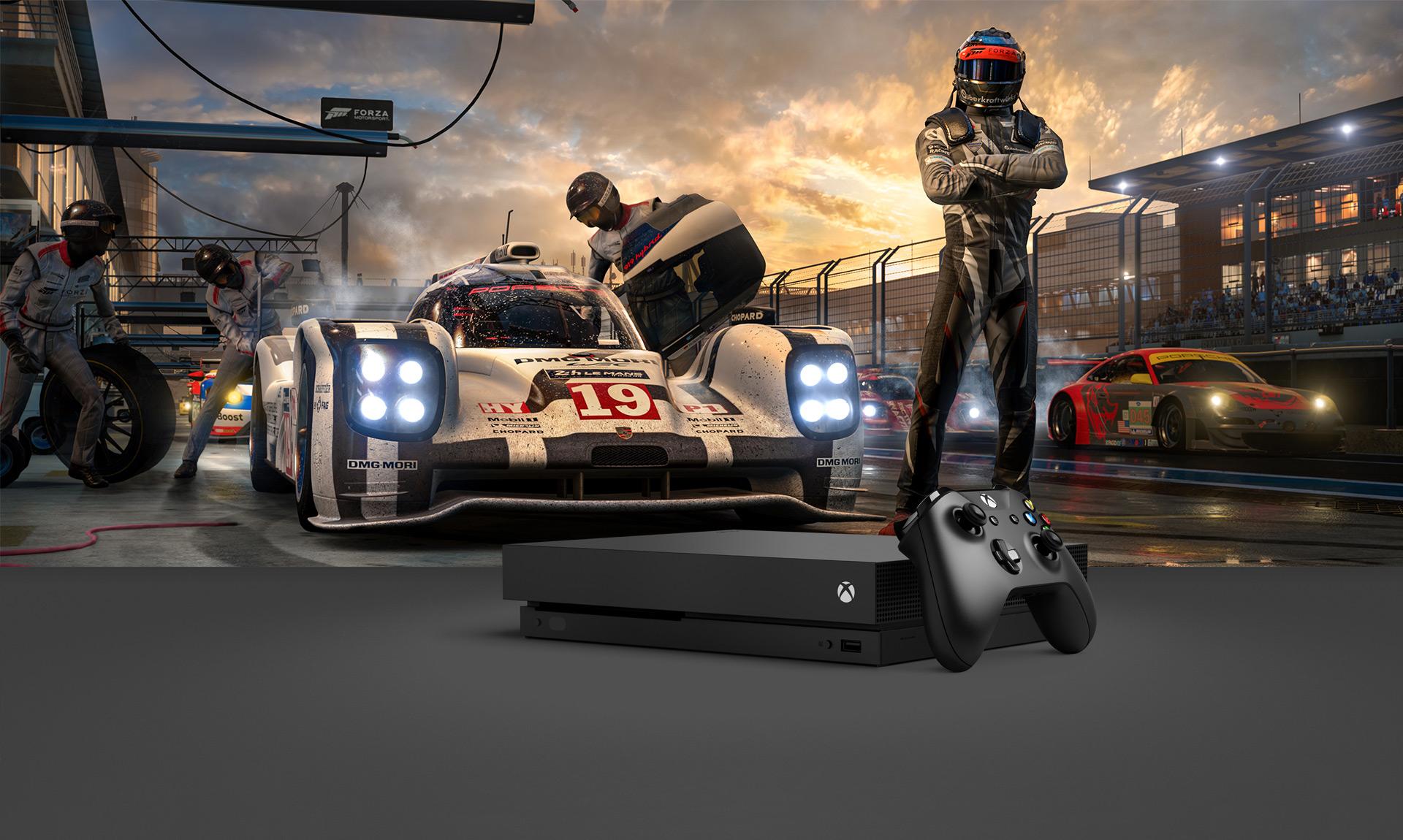 Lâmina 4K do Forza Motorsport 7