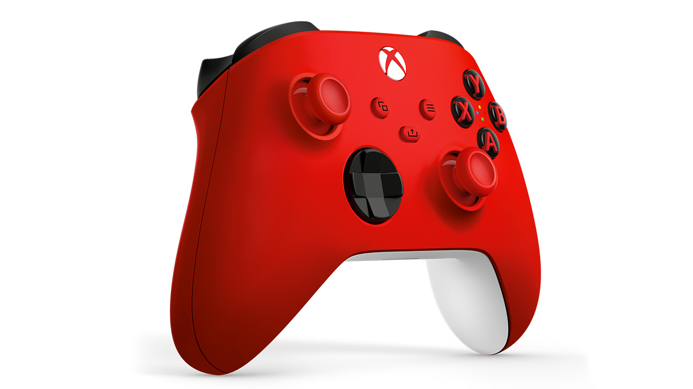 Pulse Red Xbox controller