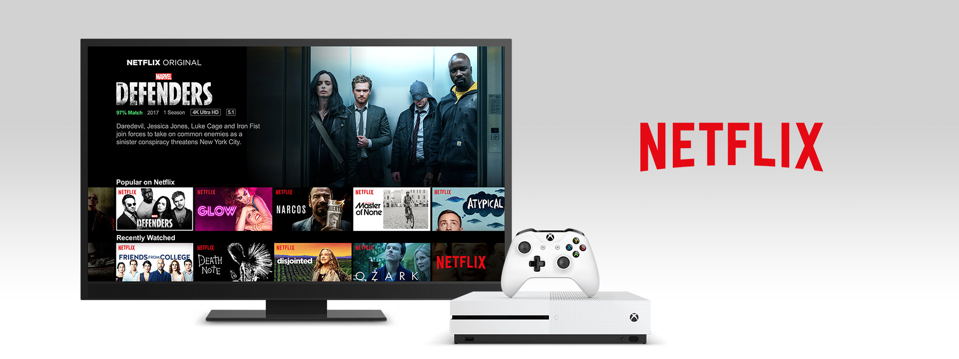 Netflix on an Xbox One