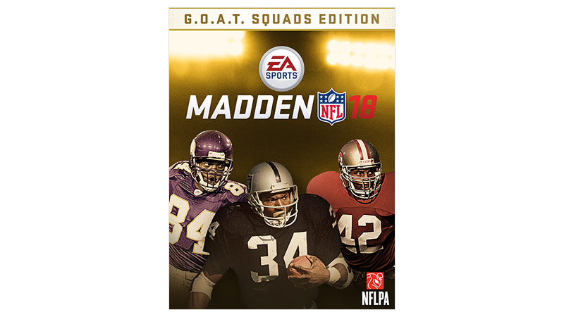Madden NFL18 GOAT Edition-coverbillede
