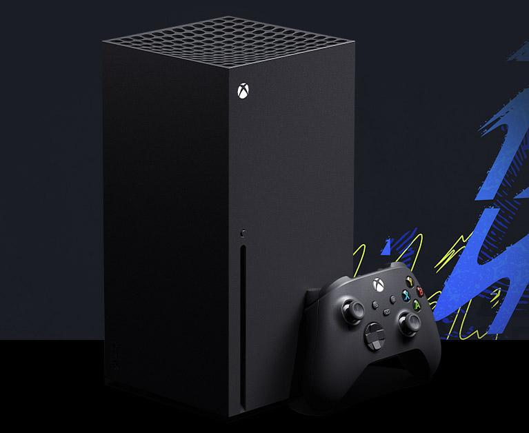 Xbox SeriesX konsolu ve oyun kumandası
