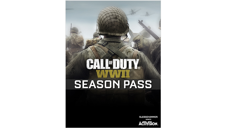 Call of Duty WWII Season Pass 外包裝圖