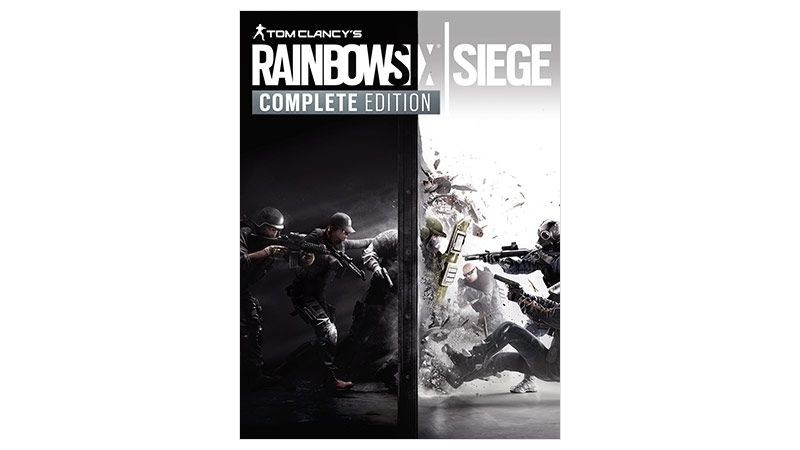 Rainbow Six Siege Complete Edition-coverbillede