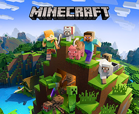 Minecraft-coverbillede