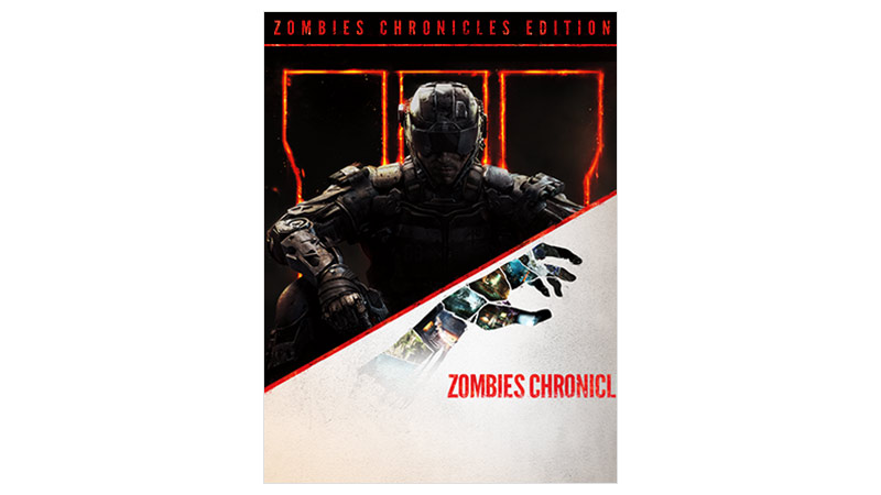 Call of Duty Black Ops III Zombies Chronicles Edition, bild på förpackning