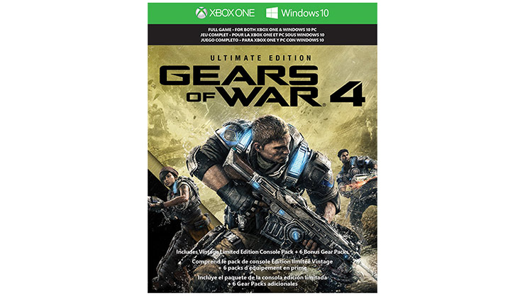 Gears of War 4: Ultimate Edition – Verpackung