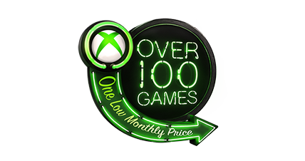 Xbox Game Pass logo with image of a zombie