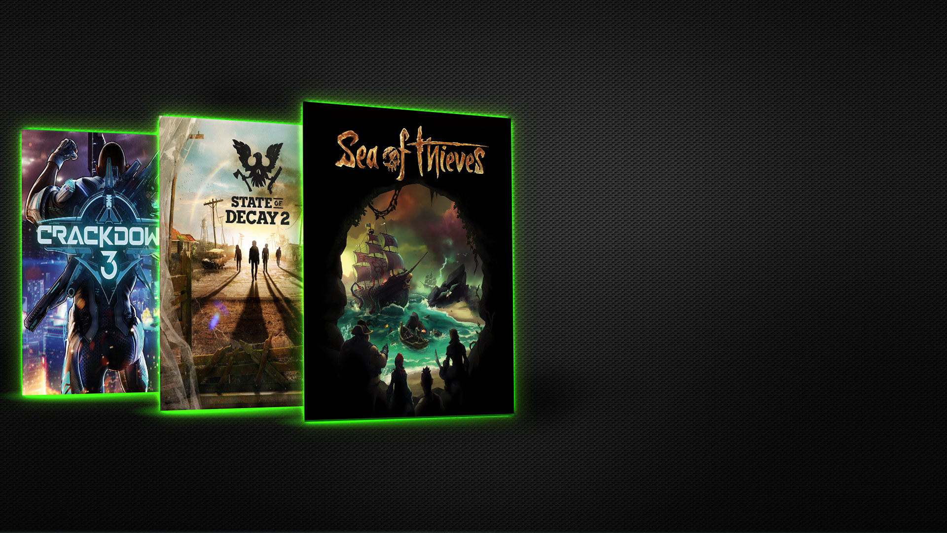 Three Xbox games in a row: Sea of Thieves, State of Decay 2, and Crackdown 3