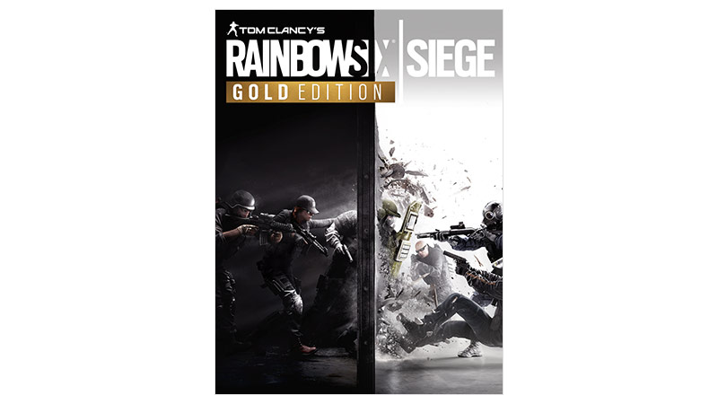 Rainbow Six Siege Gold Edition-coverbillede