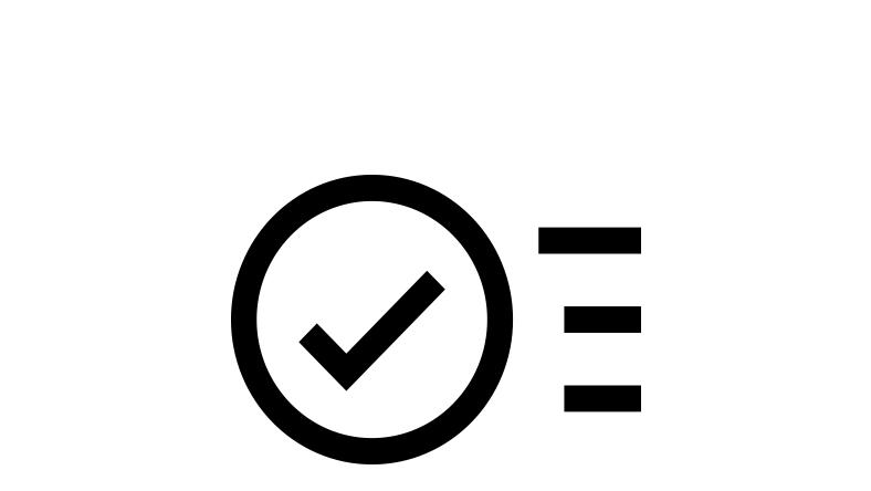 confirmation icon