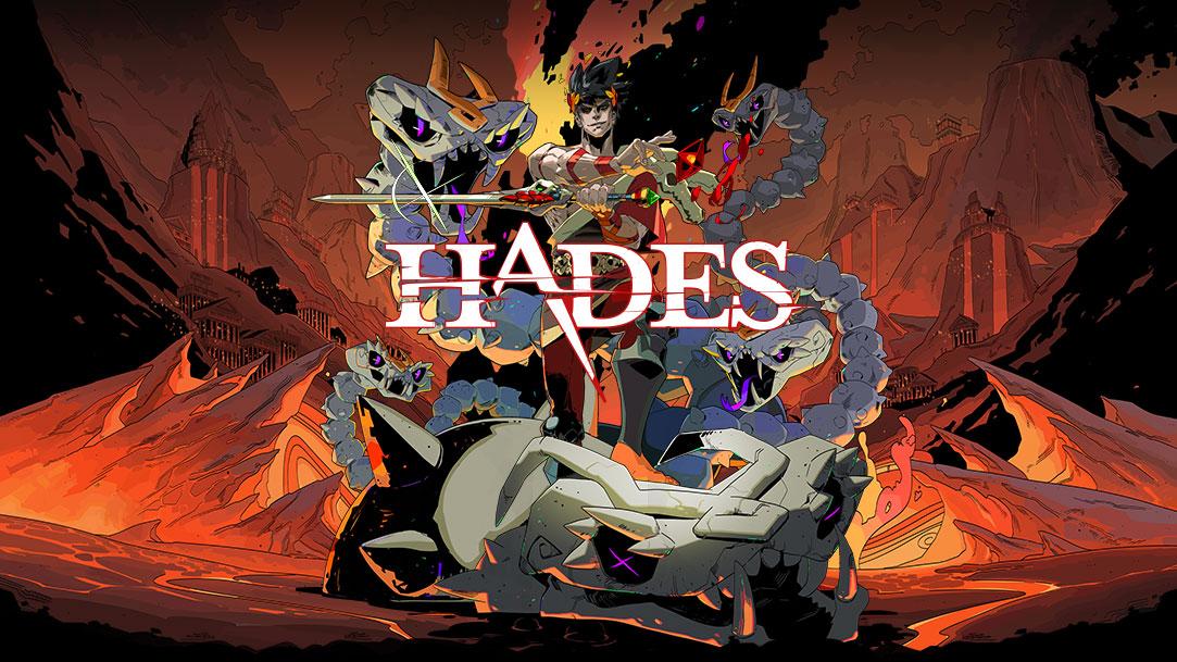 Hades, Zagreus tasí meč pred Learniem v druhej úrovni pekla.