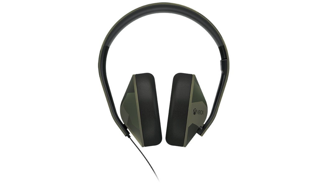 Vooraanzicht Armed Forces-headset