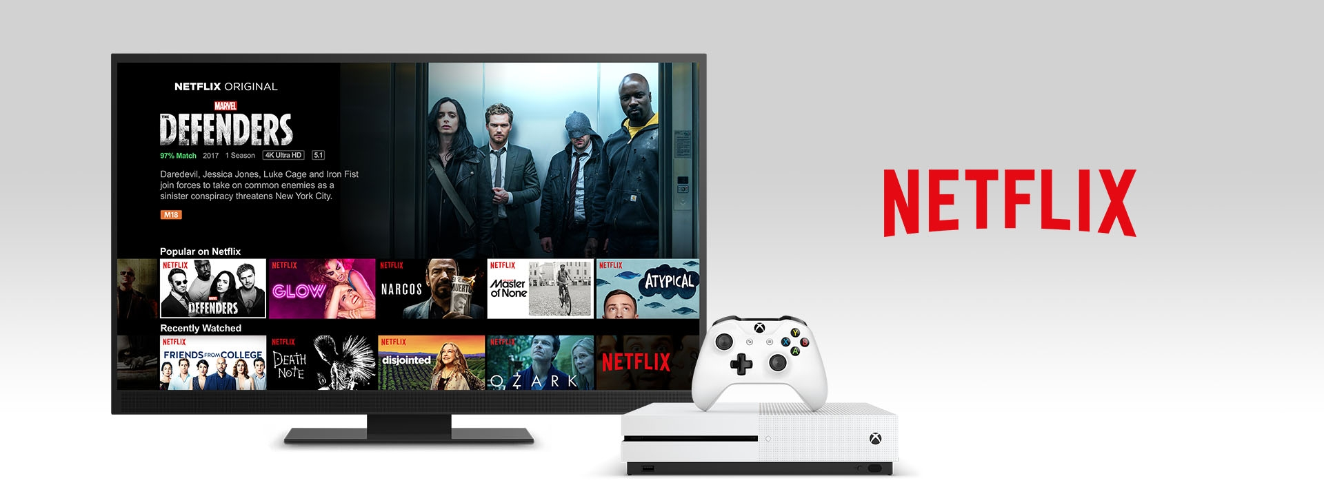Netflix on an Xbox One