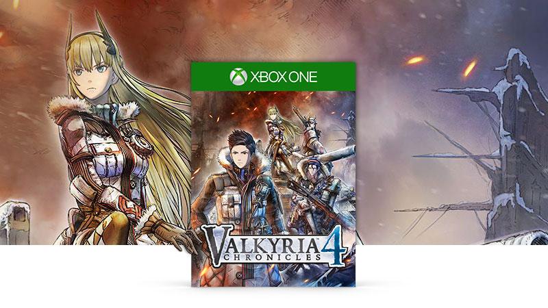 Valkyria Chronicles 4 box shot and artwork