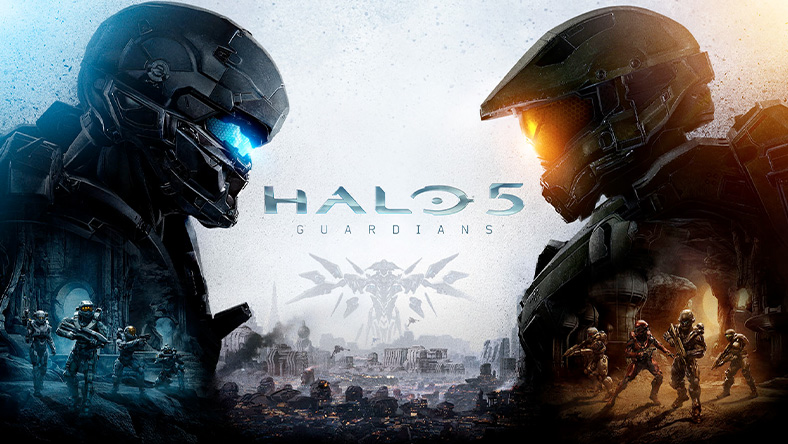 Halo 5: Guardians, two Spartans facing each other