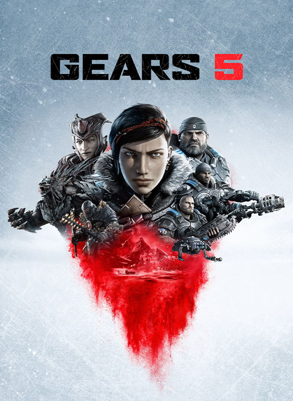 Gears 5-coverbilde