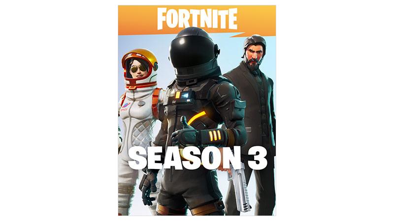 Fortnite Battle Royale season 3 boxshot