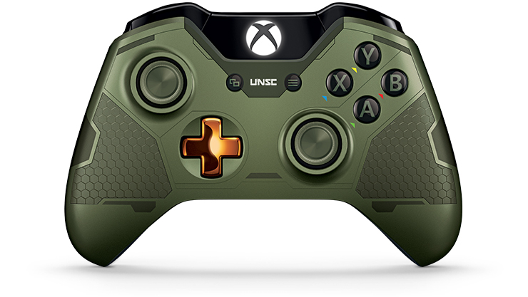 Xbox One Limited Edition Halo 5 Guardians The Master Chief Wireless Controller