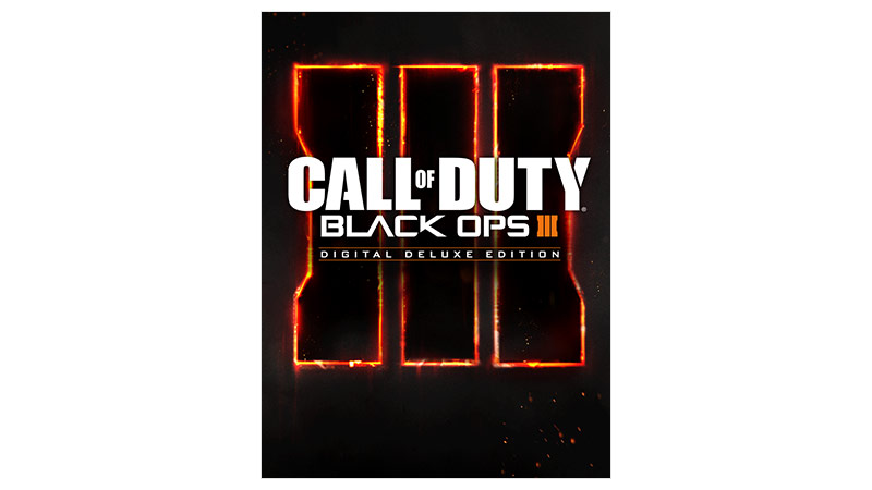 Call of Duty Black Ops III Deluxe Edition, bild på förpackning