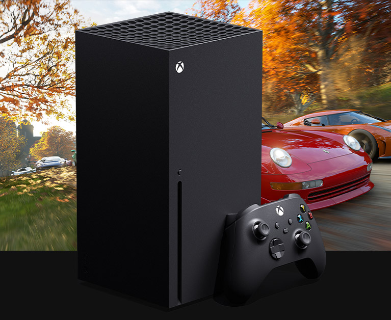 Xbox Series X console plus controller