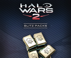 9 packs Blitz Halo Wars 2