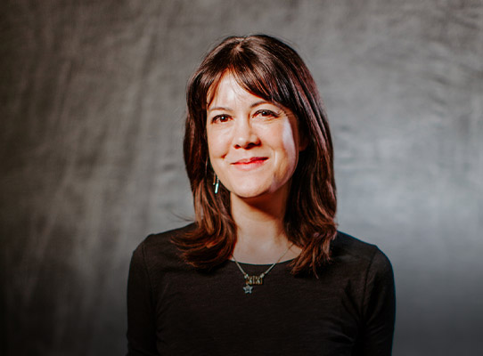 Portrait of Kiki Wolfkill