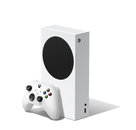 Xbox series S console and controller