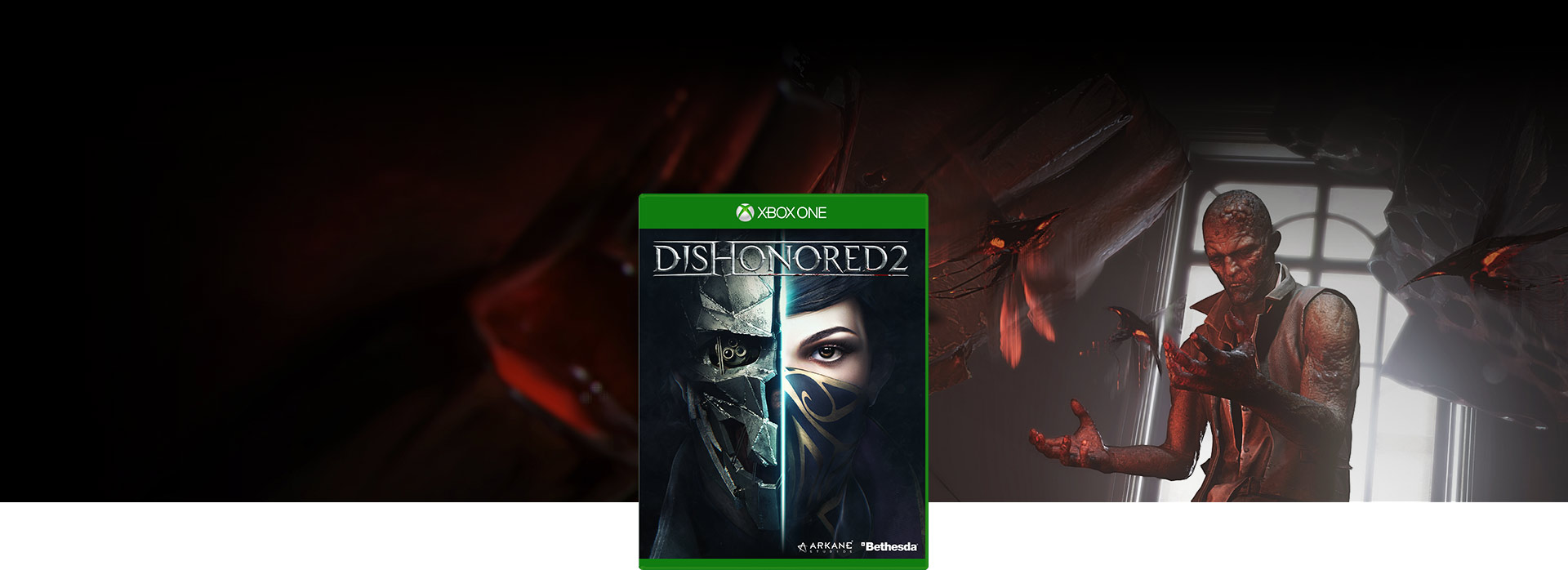 Dishonored 2 boxshot