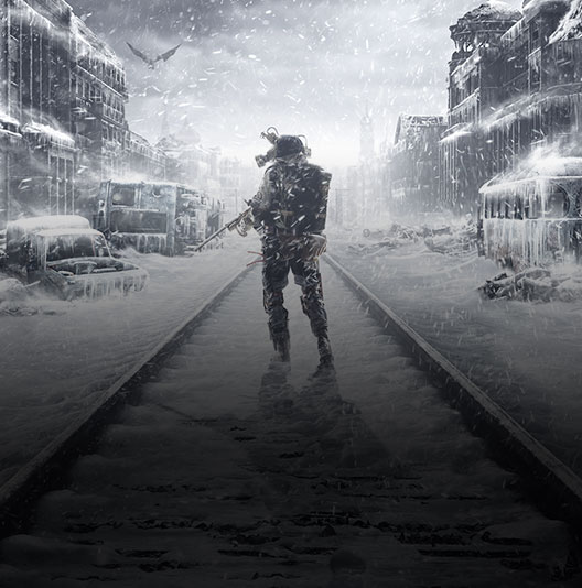 Game-art uit Metro Exodus