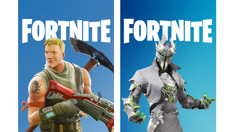 Fortnite and Spider Knight boxart