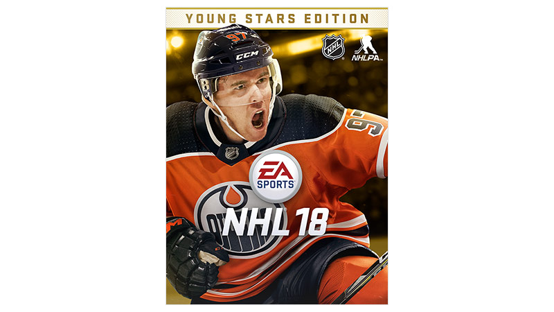 NHL 18 Young Stars Edition box shot