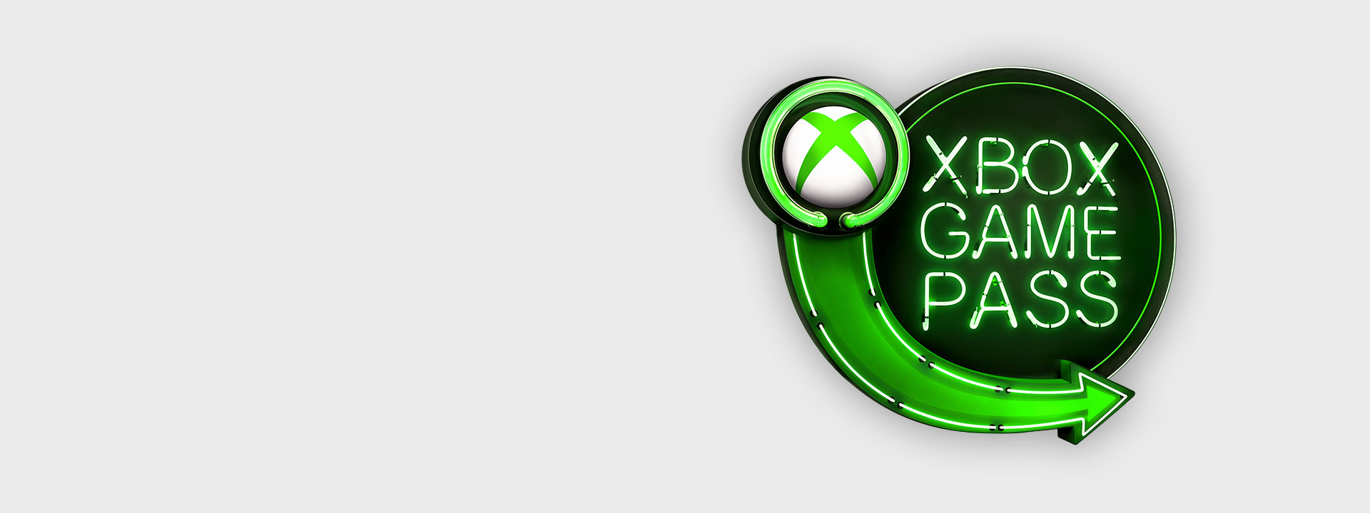 Xbox Game Pass sign logo
