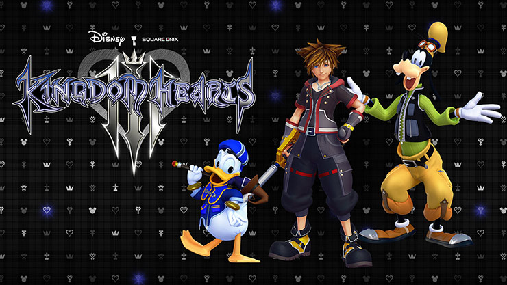 Kingdom hearts III box shot