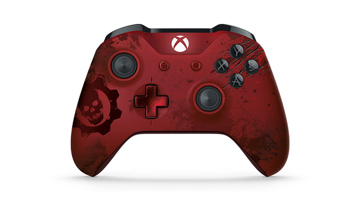 Limited Edition Crimson Omen Wireless Controller