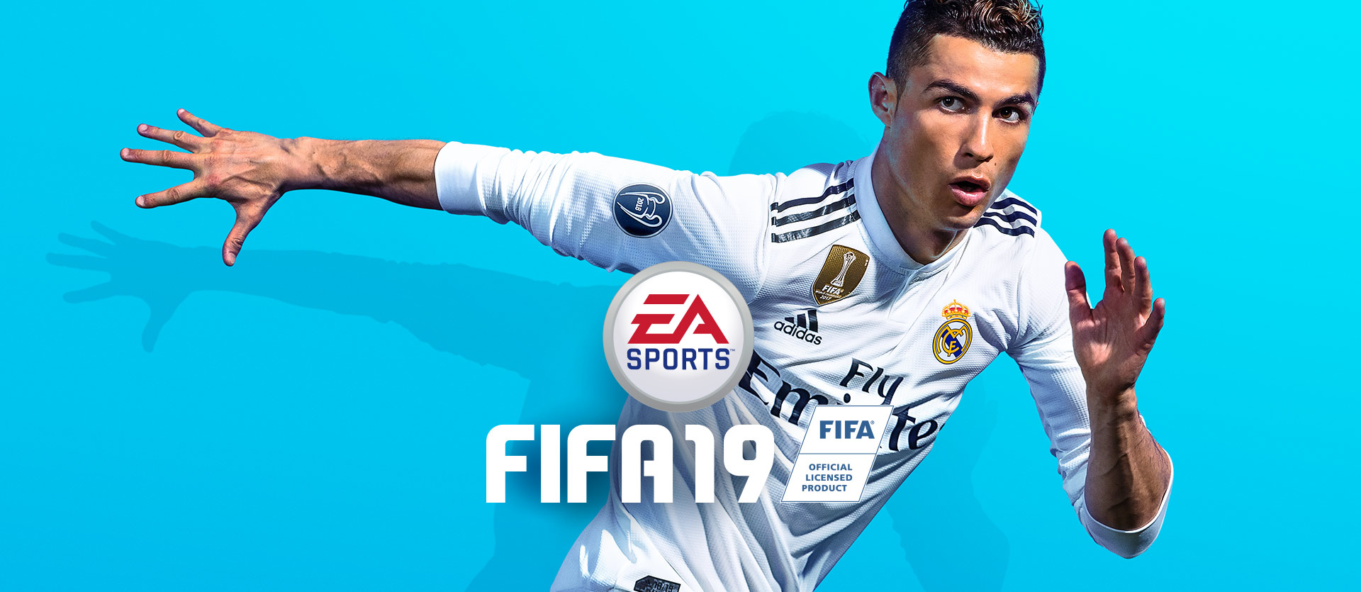 EA Sports FIFA 19, Cristiano Ronaldo a correr