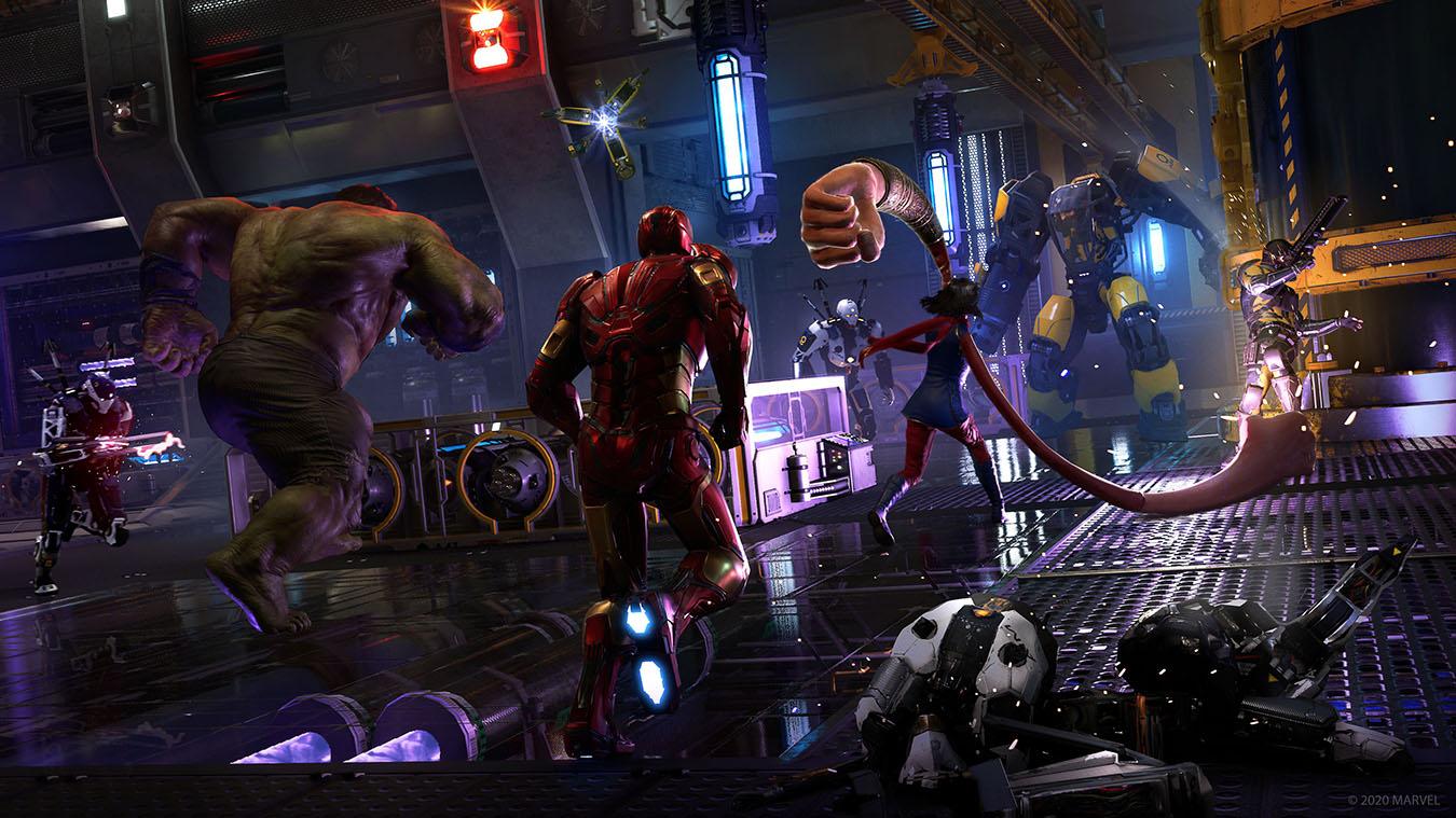 Прокат Marvel's Avengers - Мстители на PS4