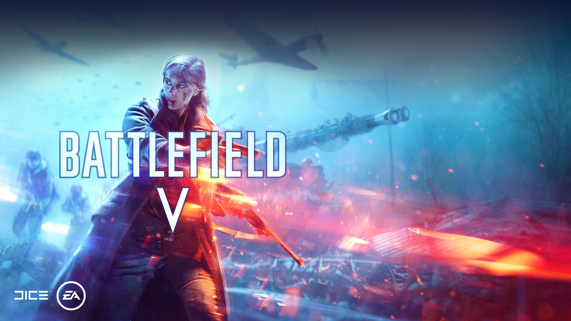 Battlefield V, Dice EA, вид спереди на французского солдата.